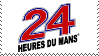 24 Hours of Le Mans stamp by JDMWanganPichu