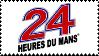 24 Hours of Le Mans stamp by JDMcerealguytuner