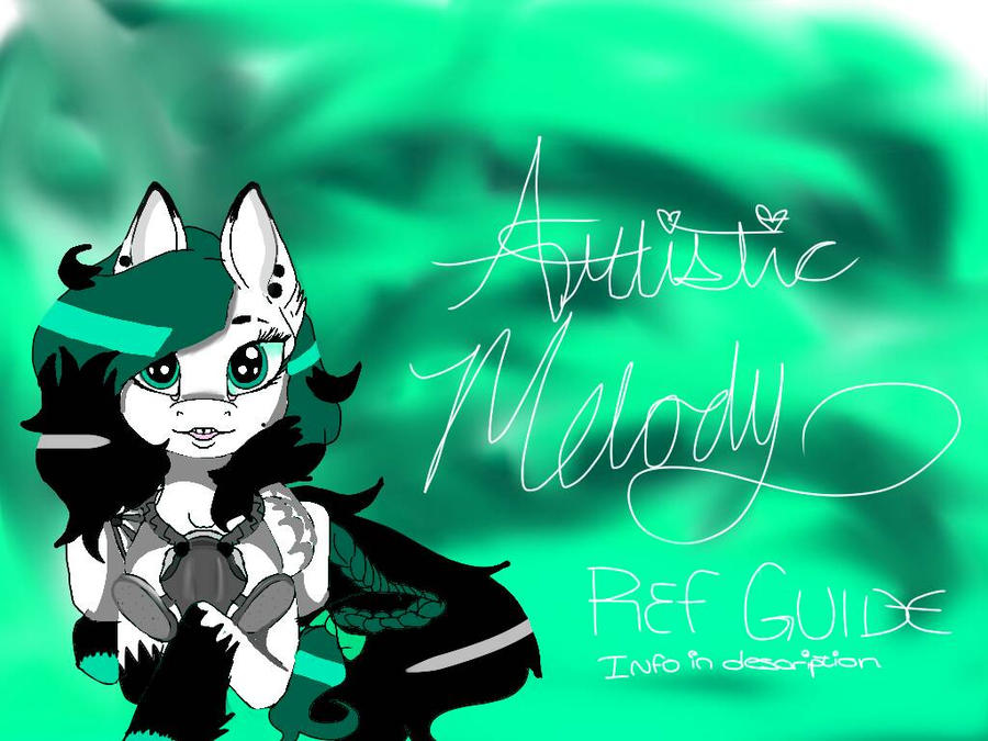 Artistic Melody Info Sheet (check description) by KittyDrawz