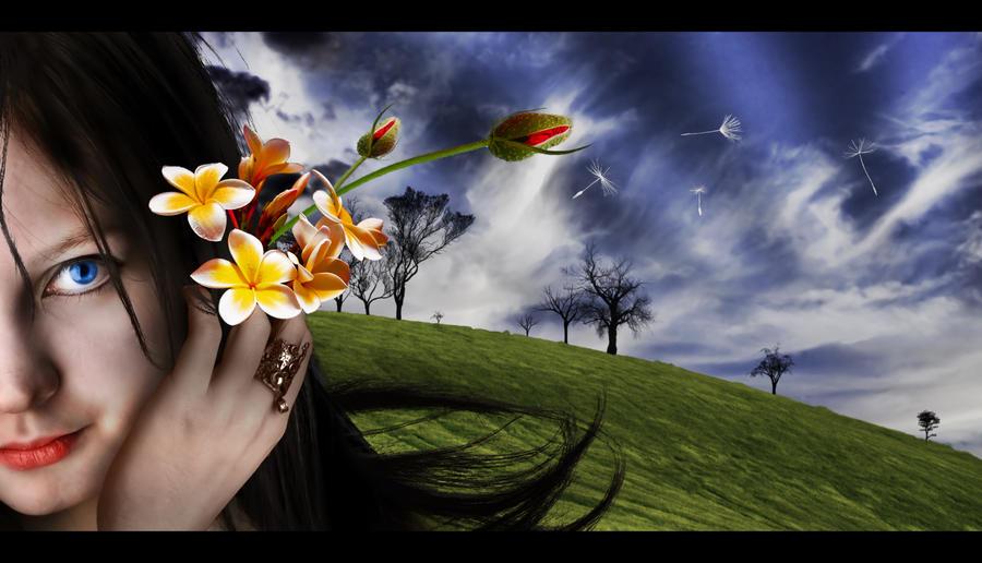 Flower Girl by SicMorbius