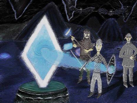 Warriors Find a Magical Portal