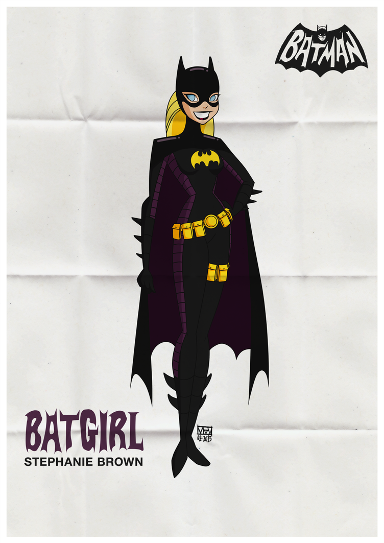 Batgirl Stephanie Brown by V-lock