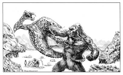 KongvsSkullcrawler by Maikart24