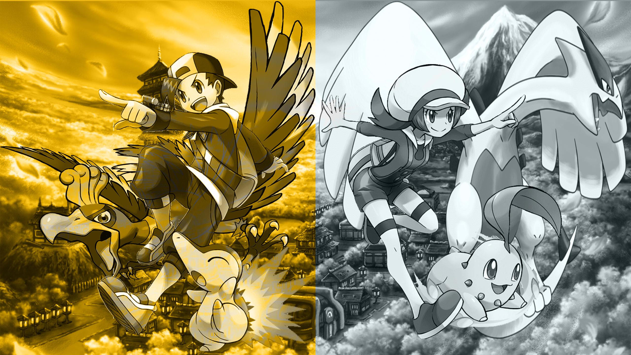 Pokemon Heartgold And Soulsilver Wallpaper By Sirgarchomp45 On Deviantart