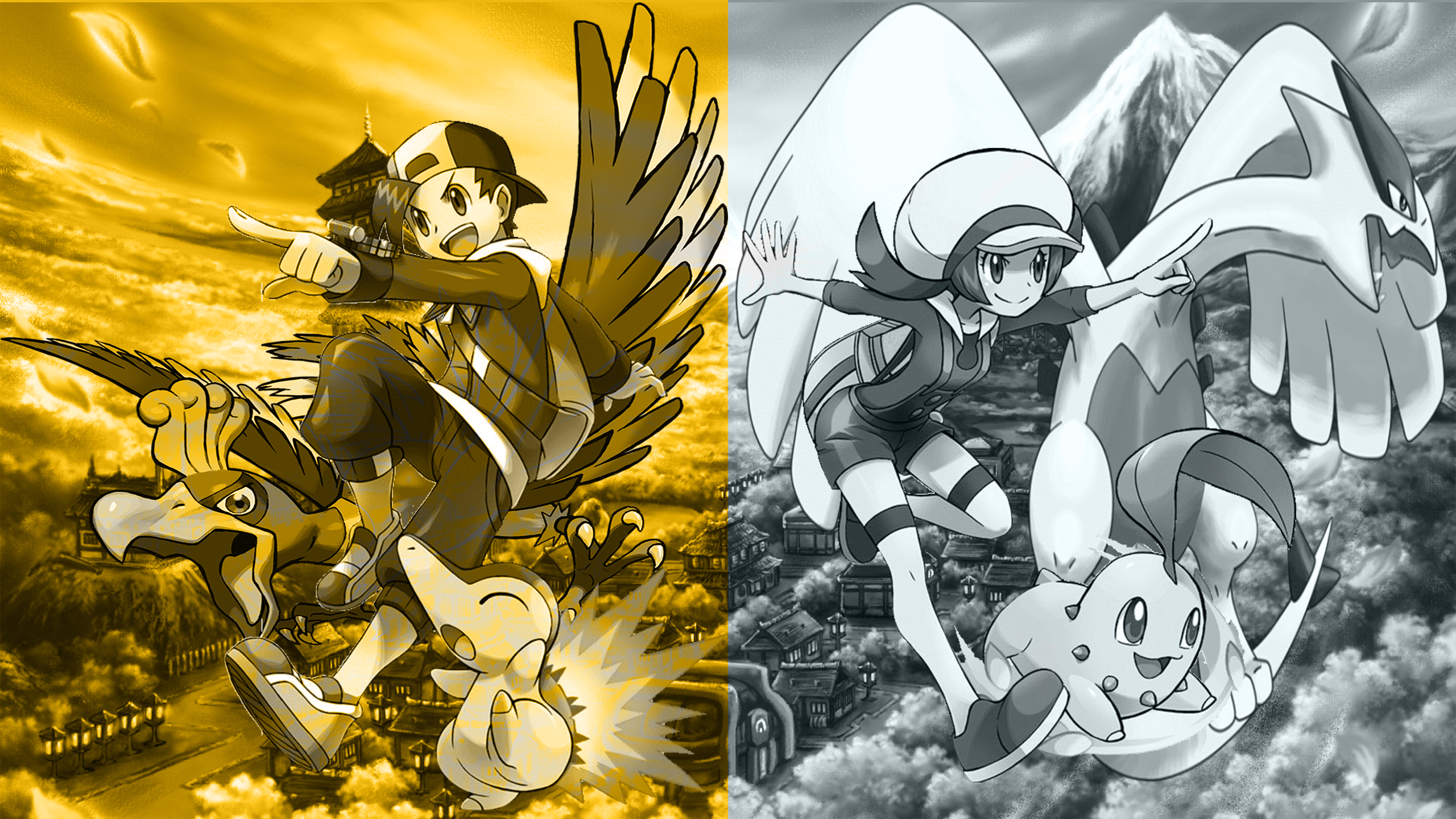 Pokemon Heartgold And Soulsilver Wallpaper By Sirgarchomp45 On