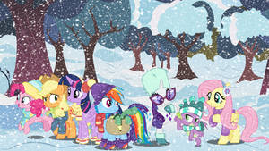 Hearth's Warming Eve Wallpaper