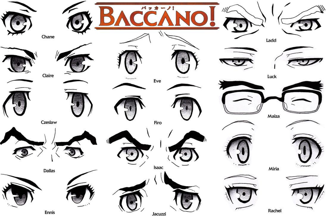 Eye Set - Baccano! by Sapphire56