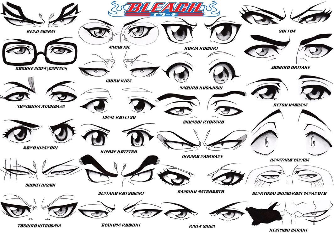 Eye Set - Bleach Part 2: Soul Society by Sapphire56