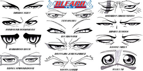 Eye Set - Bleach Part 3: Hueco Mundo by Sapphire56