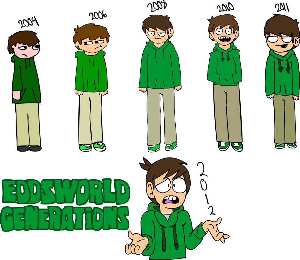 Character Design From Life Drawing : Eddsworld generations edd gould by swferino on deviantart