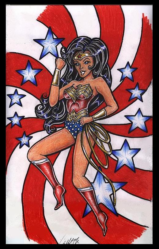 WonderWoman for Moonbeam13 by lilmoongodess