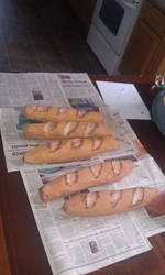 French Bread- Beauty and the Beast prop collection