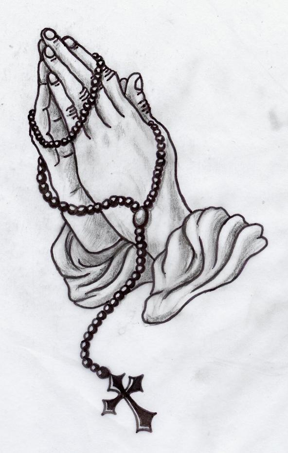 praying hands greywork by lilmoongodess on DeviantArt