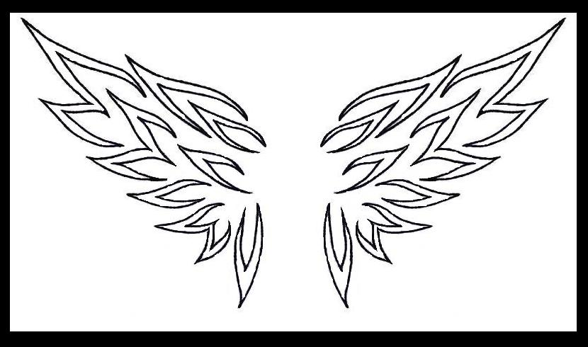 tribal wings by lilmoongodess on DeviantArt