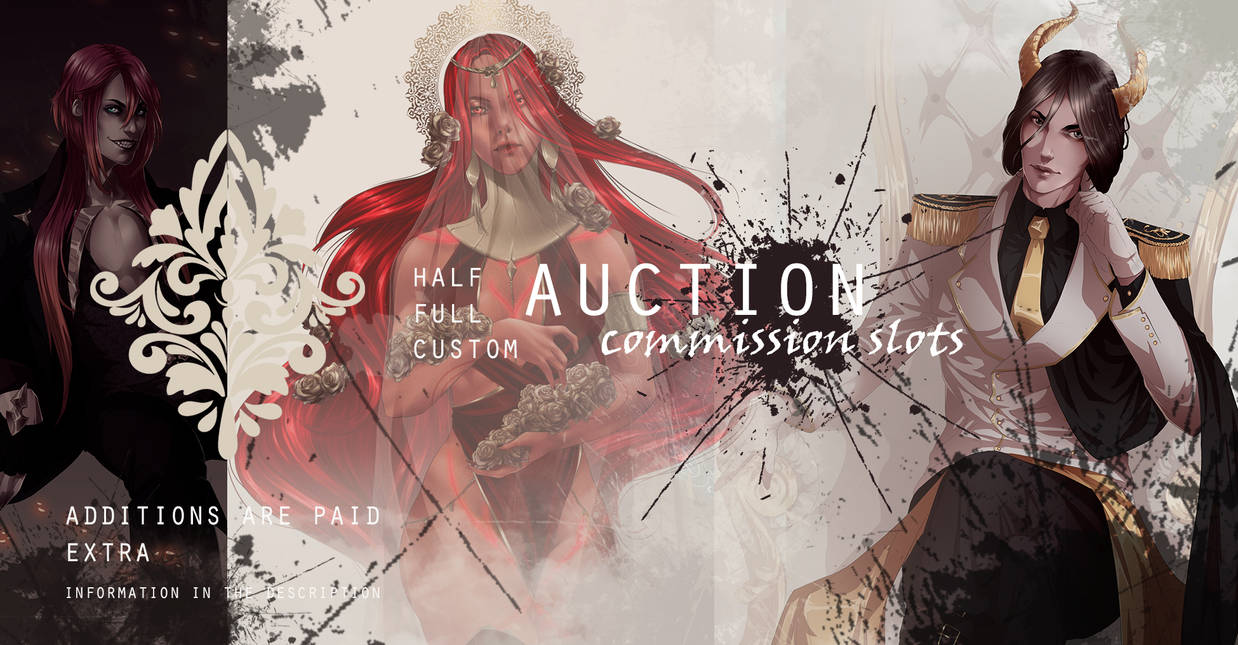 AUCTION for commission slots #6 [OPEN]