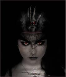 Evanscence's Evil by omar4iraq
