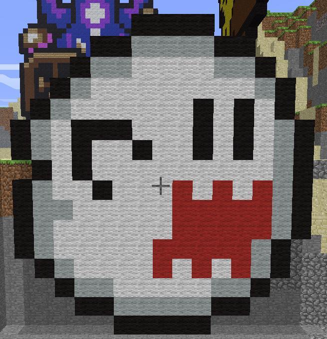 Minecraft Mario Bros Ghost by bulto93 on DeviantArt