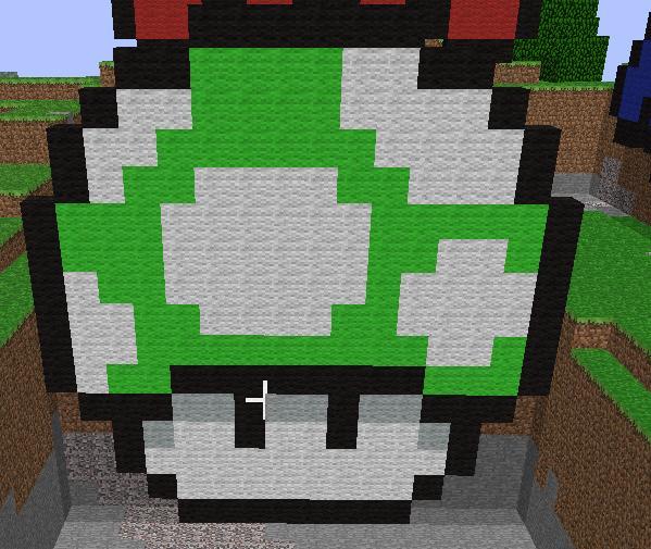 Minecraft Mario Bros Mushroom by bulto93 on DeviantArt