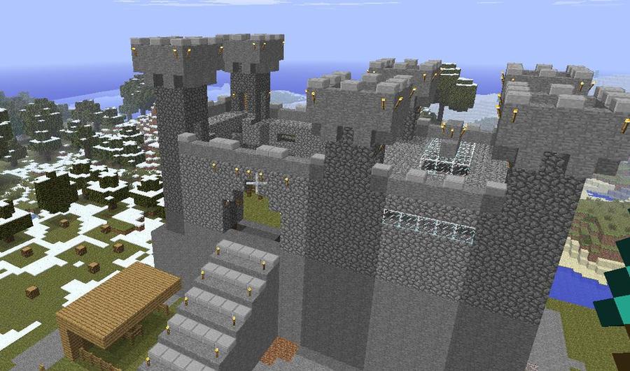 Minecraft Small Castle By Bulto93 On Deviantart