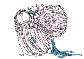 Mega Altaria Colored Lineart