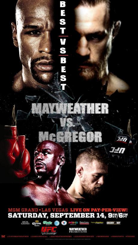 Ufc Floyd Mayweather Vs Conor Mcgregor By Fightfan42 On