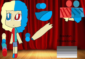 clown actor bab ref sheet by sylvie-deco