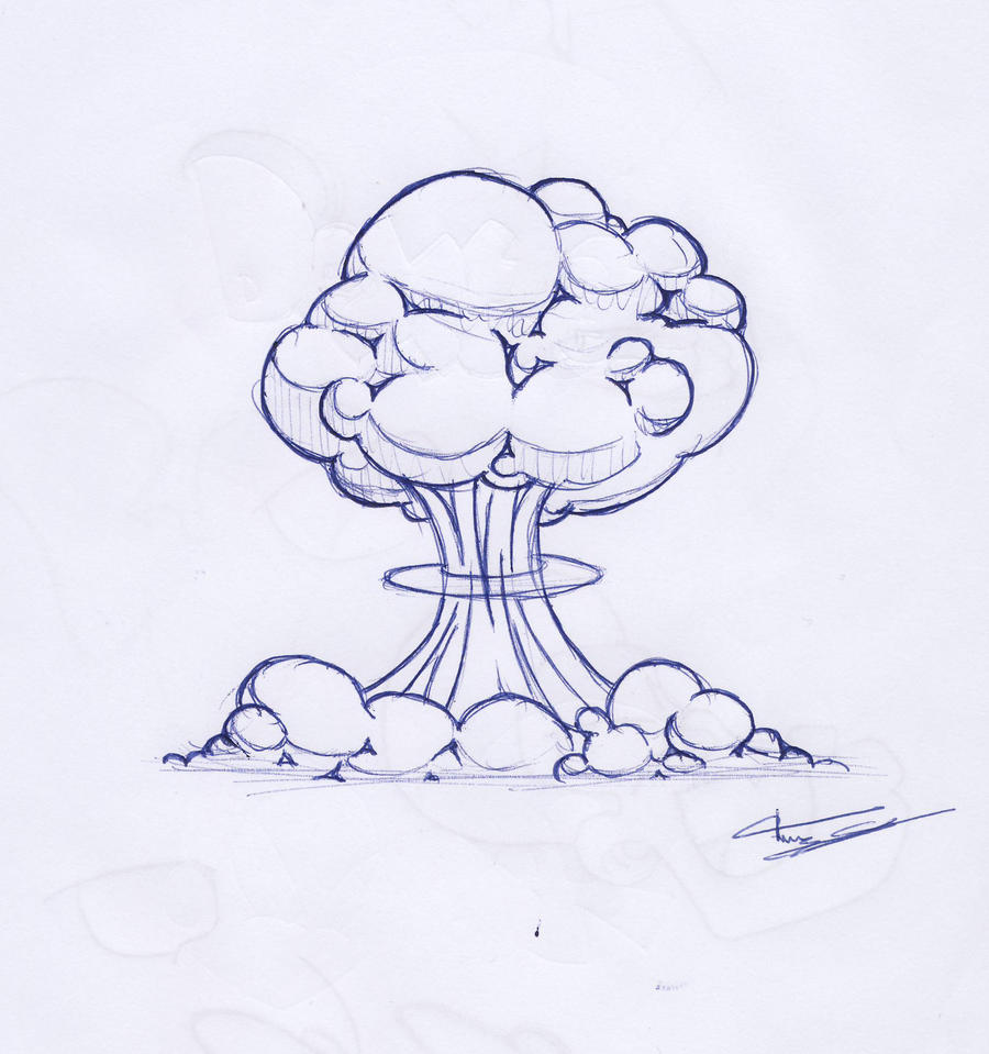 A Bomb Drawing Atom Bomb by FransBaud...
