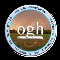 Off Grid Homesteading Logo Design