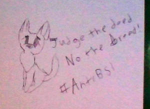 Anti Bsl artwork