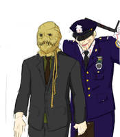 Leaving the crime scene... by Dragon-Weaver