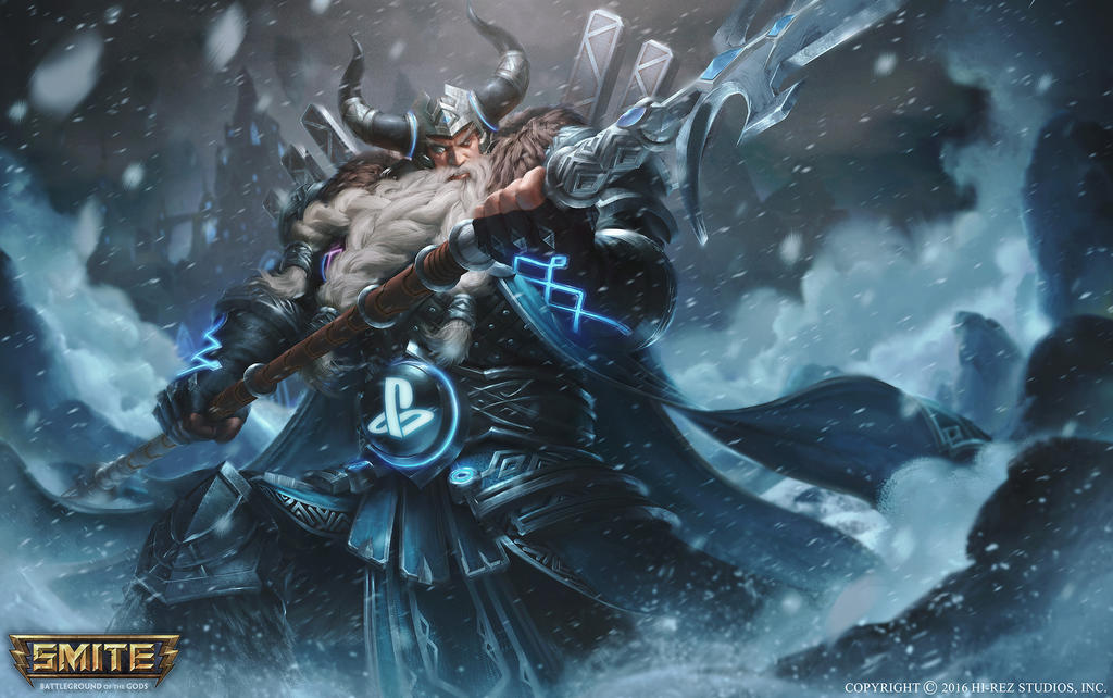 Odin PS4 by justice8701 on DeviantArt