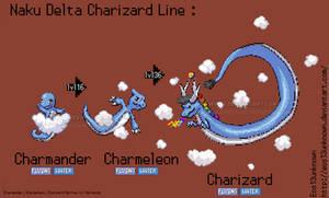 Naku Delta Charizard Line