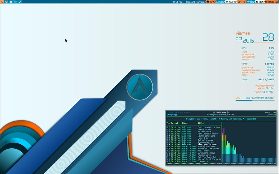 i3wm screenshot by elhackerlibre