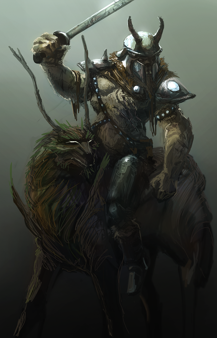 Diamond Dog on a Timberwolf by TDSpiral