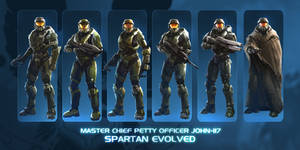 John-117 Spartan Evolved commission