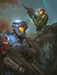 Halo Commission for Mike Jenkins