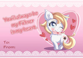 Valentine's Aryanne (Feral Pony) by AryanneHoofler