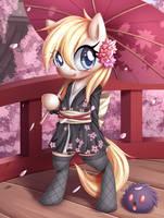 Kimono Aryanne by AryanneHoofler