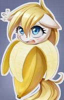 Banana Aryanne .O. by AryanneHoofler