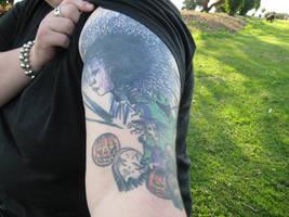 tim burton sleeve 1 by AngelicFruitcake267