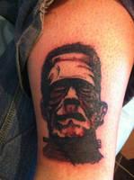 Frankenstein Tattoo by AngelicFruitcake267