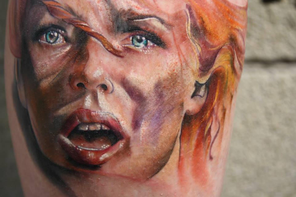 Leeloo From Fifth Element Movie - My Tattoo