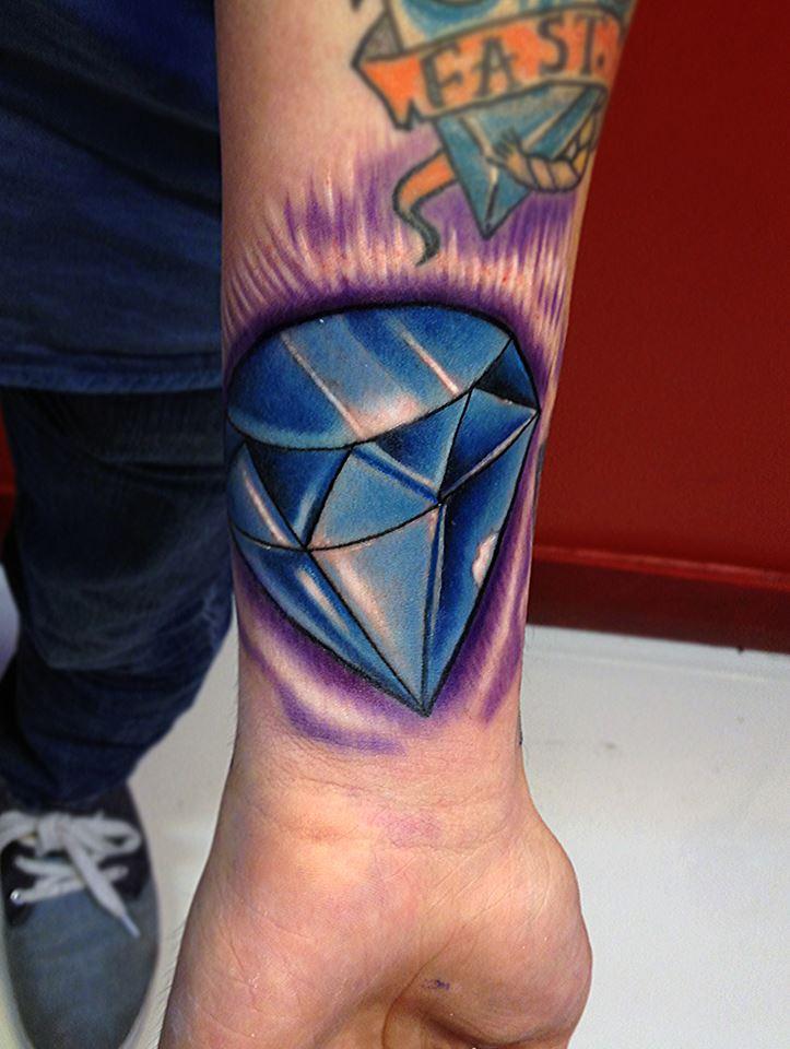 Diamond Tattoo by fa