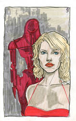 C is for Caprica 6 by crisurdiales