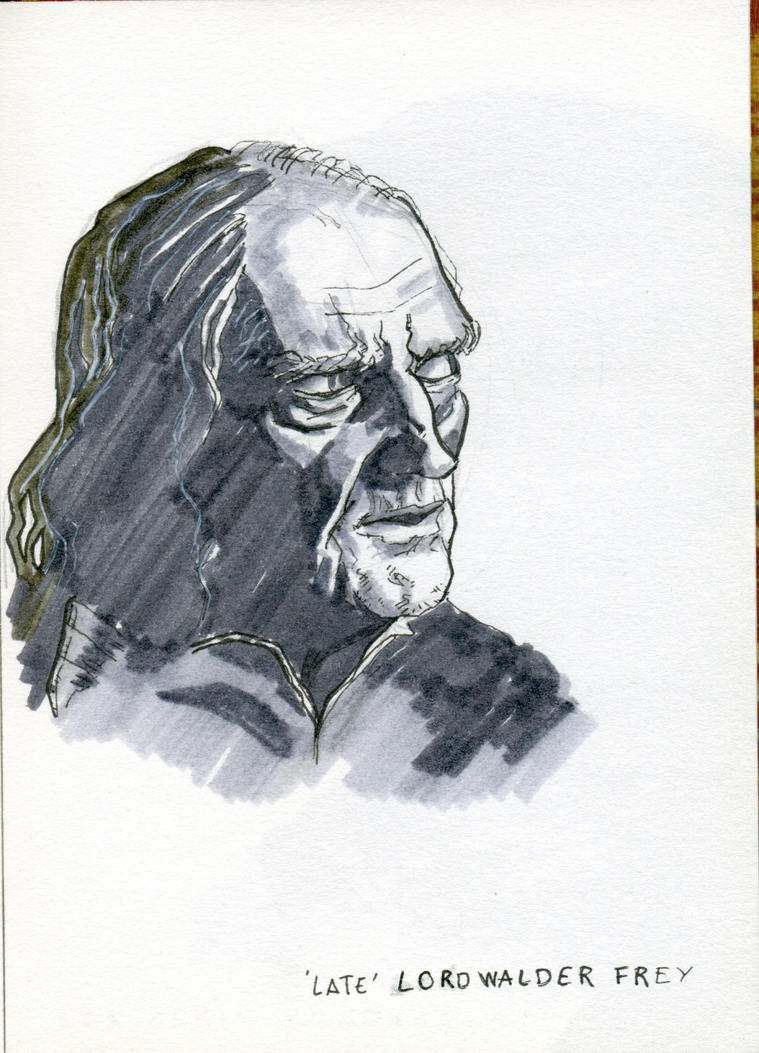 Lord Walder Frey by crisurdiales