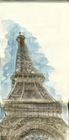 Madame Eiffel by crisurdiales