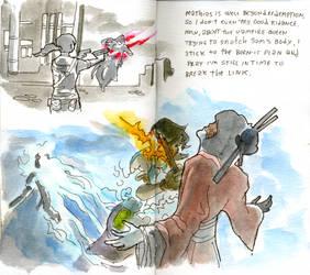 A survivor's journal (XXXV) by crisurdiales