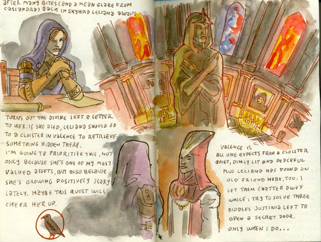 Dragon Age Inquisition (LXXVIII) by crisurdiales