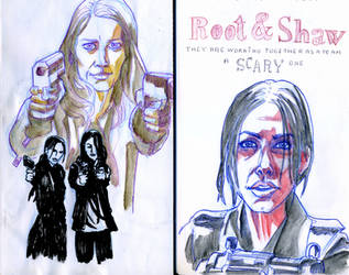 Root x Shaw - Amy x Sarah on Root-x-Shaw - DeviantArt