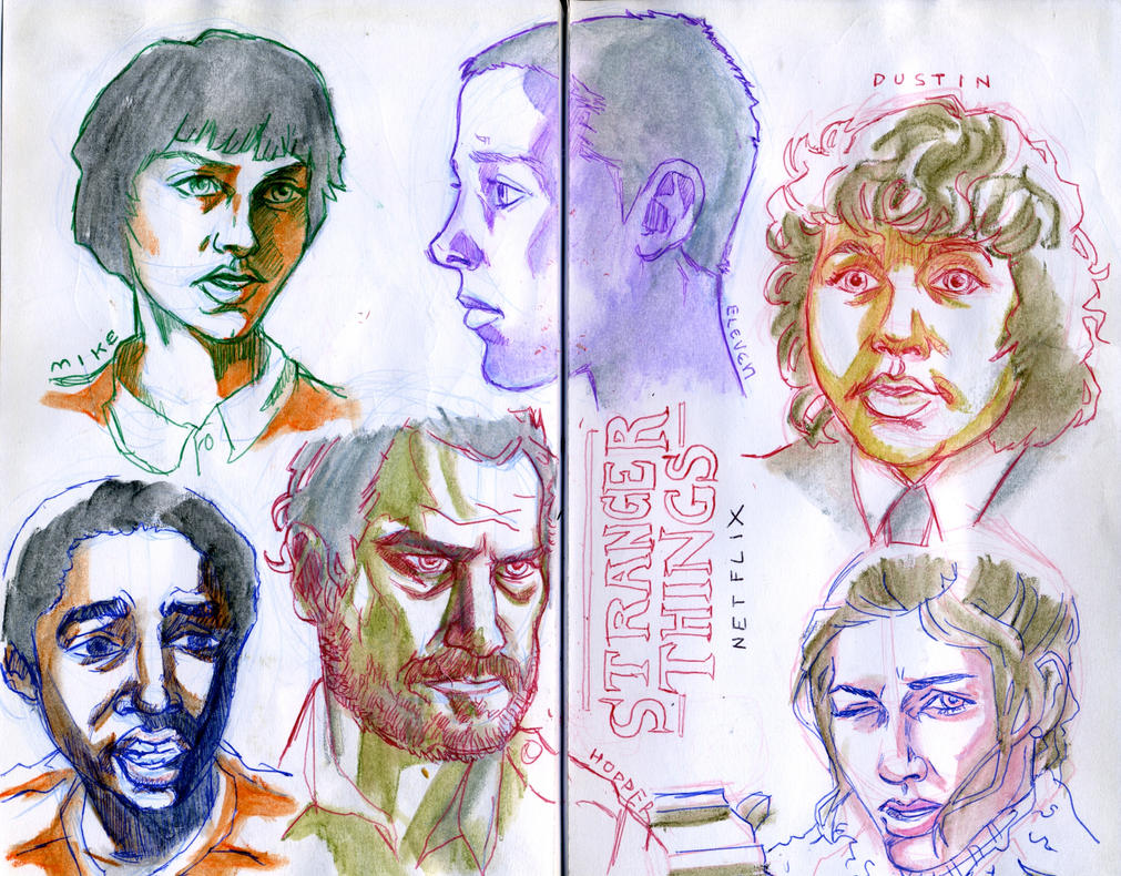 Stranger Things by crisurdiales